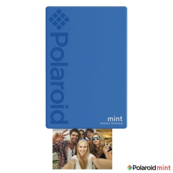 Мобилен фото принтер Polaroid Mint Printer - Blue