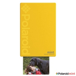 Мобилен фото принтер Polaroid Mint Printer - yellow