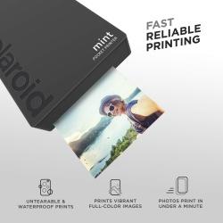 Мобилен фото принтер Polaroid Mint Printer - black