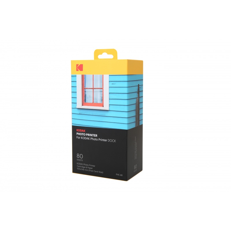 Фото хартия Kodak Photo Printer Dock Cartridge (80 Pack)