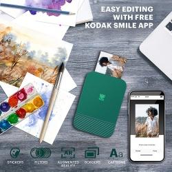 Мобилен принтер KODAK SMILE Printer зелен