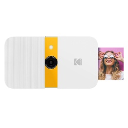 Фотоапарат KODAK SMILE 2x3 Camera бяло/жълт