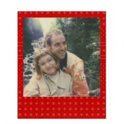 Филм Polaroid Originals Color Film за 600 Festive Red Edition