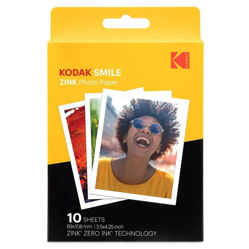 Хартия Kodak ZINK 3x4 inch paper - 10 броя