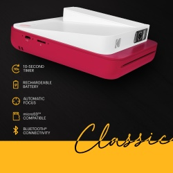 Фотоапарат Kodak Smile Classic червен (Bluetooth)