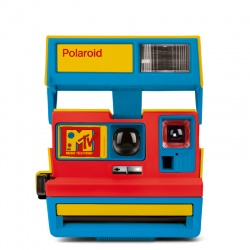 Фотоапарат Polaroid 600 Camera - MTV Stereo (refurbished)
