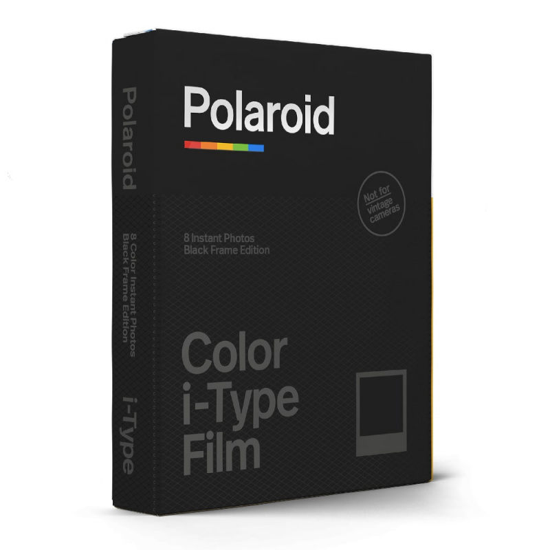 Филм Polaroid Color film for i-Type – Black Frame Edition