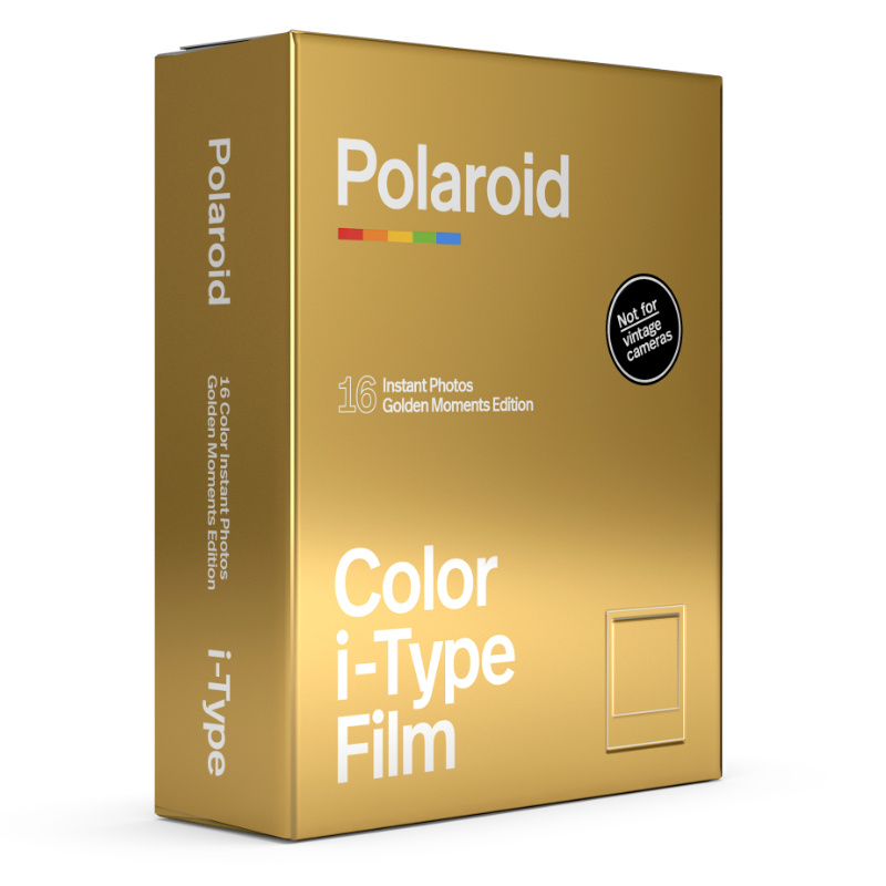 Филм Polaroid Color film for i-Type – GoldenMoments Double Pack