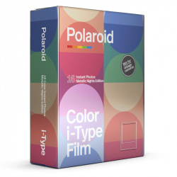 Филм Polaroid Color film for i-Type – MetallicNights Double Pack