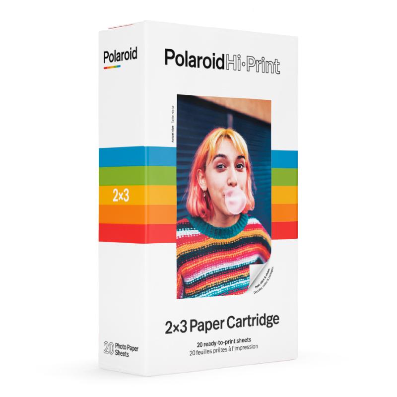 Фотохартия Polaroid Hi·Print 2x3 Paper Cartridge - 20 снимки