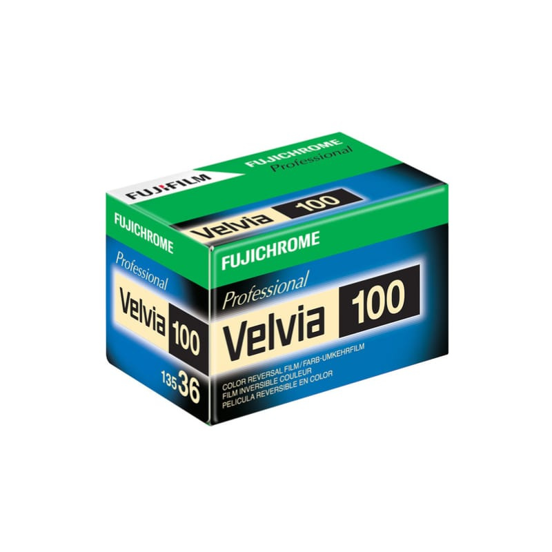Цветен диапозитивен филм FUJI Velvia 100 135-36 RVP-100