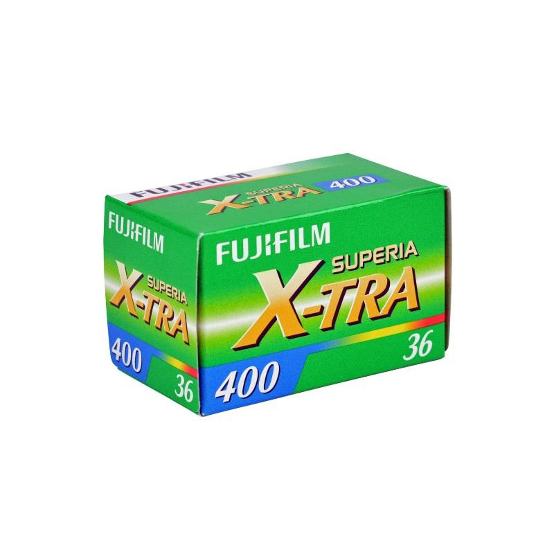 Цветен негативен филм FUJI Superia 400 X-TRA Negative, 135-36