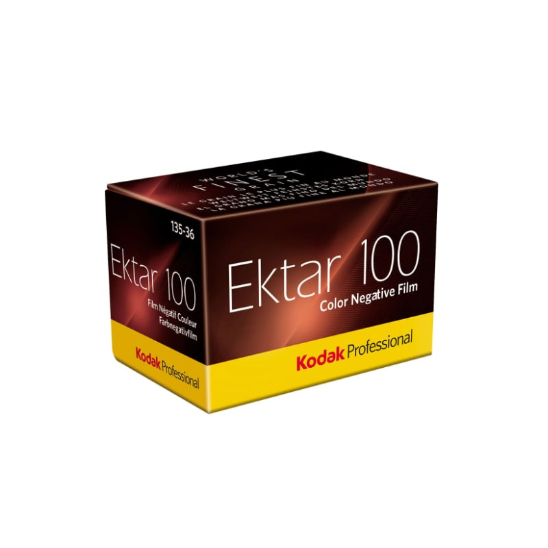 Цветен негативен филм KODAK Ektar 100 Professional, 135-36