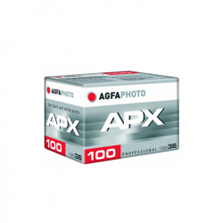 Черно-бял негативен филм AGFAPHOTO Pan APX 100 Black & White