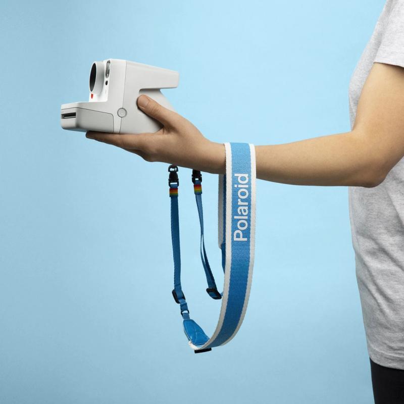 Ремък за фотоапарат Polaroid Camera Strap Flat - Blue