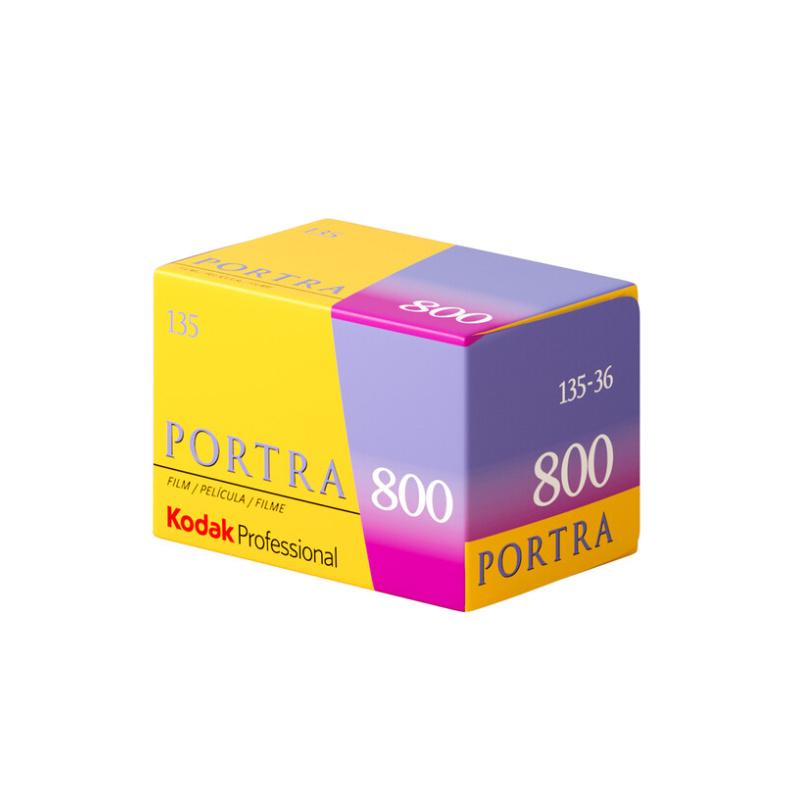 Цветен негативен филм KODAK Portra 800, 135-36