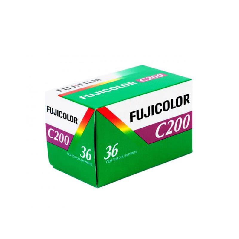 Цветен негативен филм FUJI Fujicolor C200 Negative, 135-36