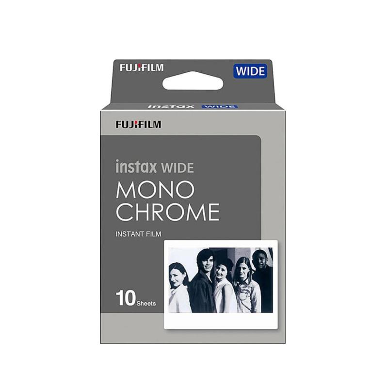 Черно-бял филм FUJI INSTAX Wide Monochrome (1x10)