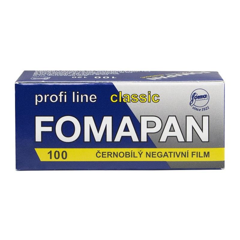 Черно-бял негативен филм FOMAPAN Classic 100, 120 Roll