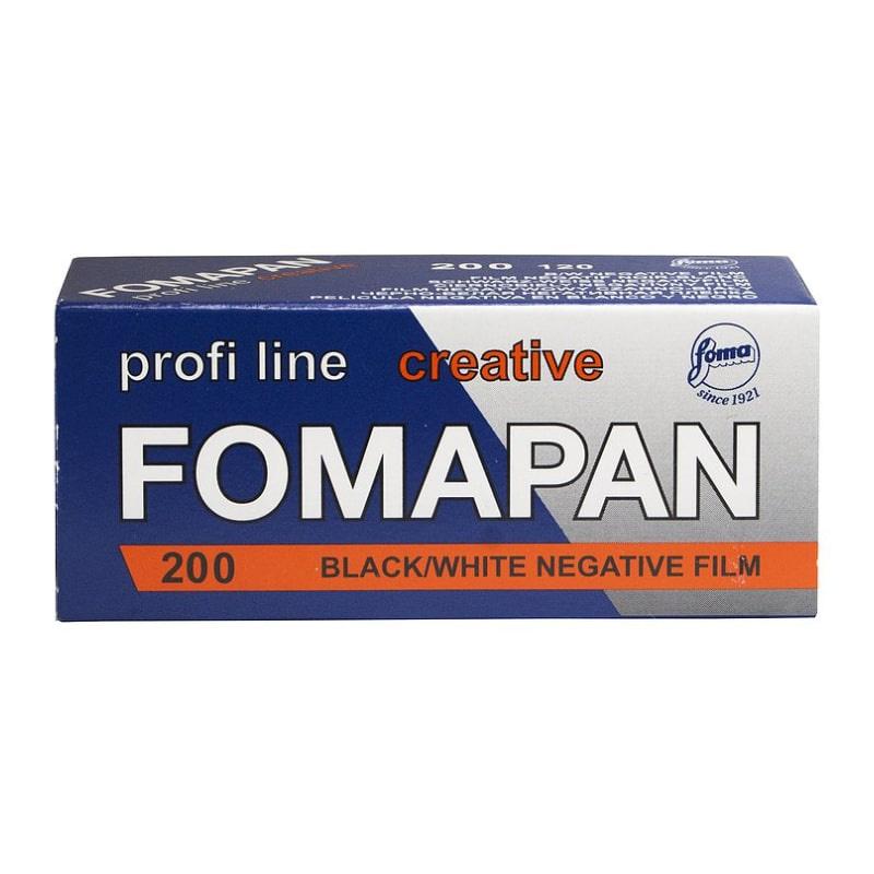 Черно-бял негативен филм FOMAPAN 200 Classic, 120
