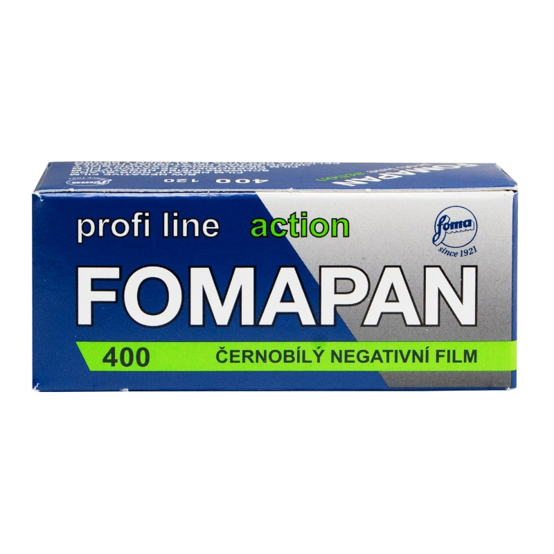 Черно-бял негативен филм FOMAPAN 400 Classic, 120