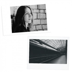 Черно-бял филм FUJI INSTAX mini Monochrome (1x10)