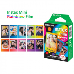 Цветен филм FUJIFILM INSTAX mini RAINBOW (1x10)