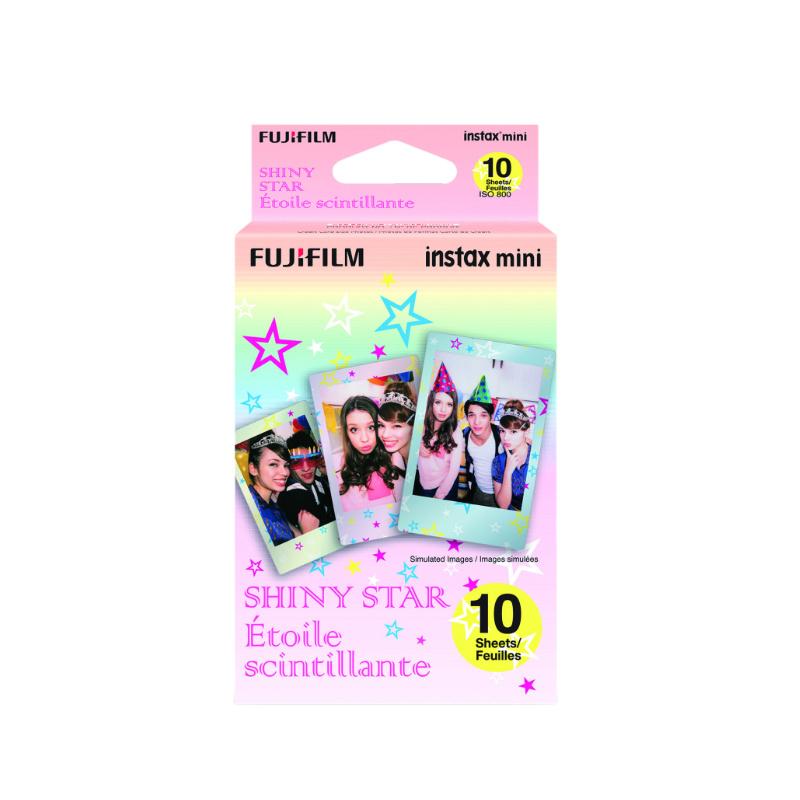 Цветен филм FUJIFILM INSTAX mini Shiny Star (1x10)