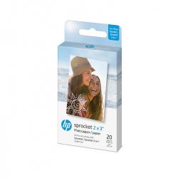 "Фотохартия Zink Paper 2x3"" за HP Sprocket, 20 броя"