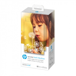 Фото хартия HP Sprocket 4x6 Paper (80 Pack)