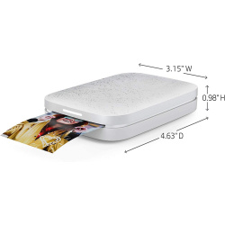 "Фото принтер HP Sprocket 2x3"" Silver"