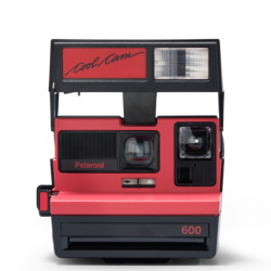 Фотоапарат Polaroid 600 Camera - Cool Cam Red (refurbished)