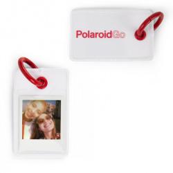 Бадж Polaroid GO photo tag white
