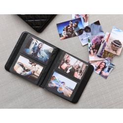 """Албум Polaroid за 64 снимки 2x3"""", Черен"""