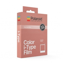 Филм Polaroid Originals Color i-Type Film, Rose Gold Frame