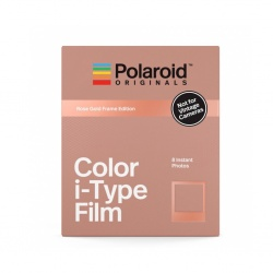 Филм Polaroid Originals Color i-Type Film, Rose Gold Frame