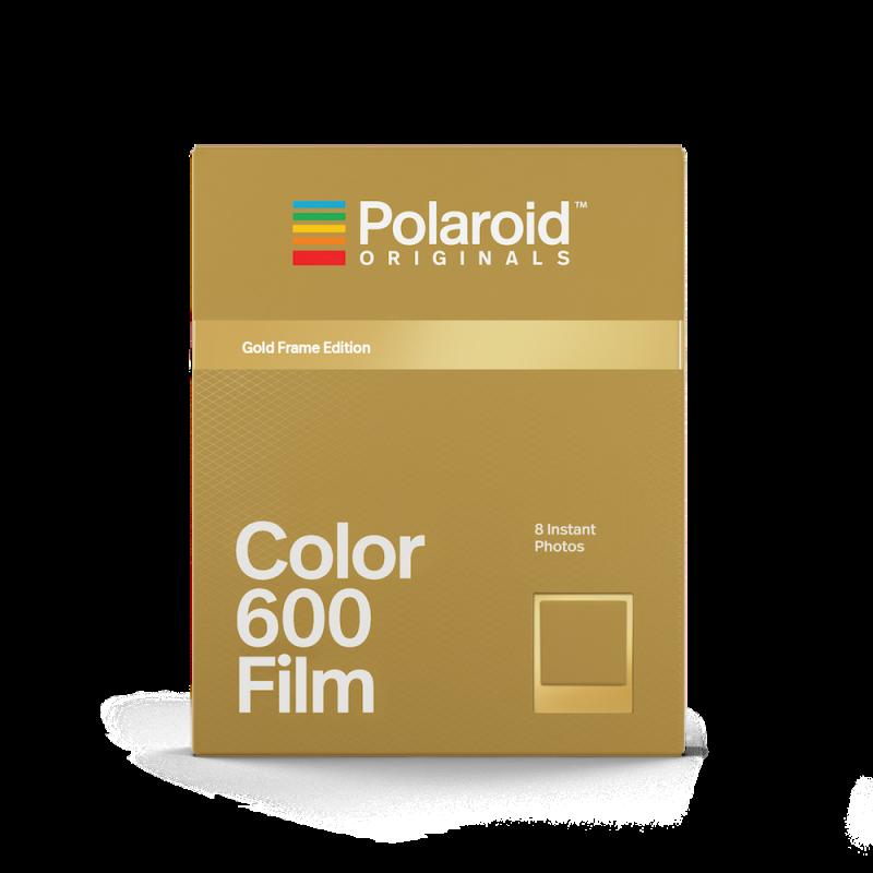 Филм Polaroid Originals Color Film за 600 Gold Frame Edition