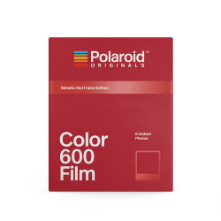 Филм Polaroid Originals Color Film за 600 Metallic Red Frame