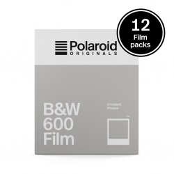 Комплект Филм Polaroid Originals B&W 600 Film (12 бр.)