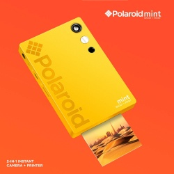 Фотоапарат Polaroid MINT Shoot print yellow