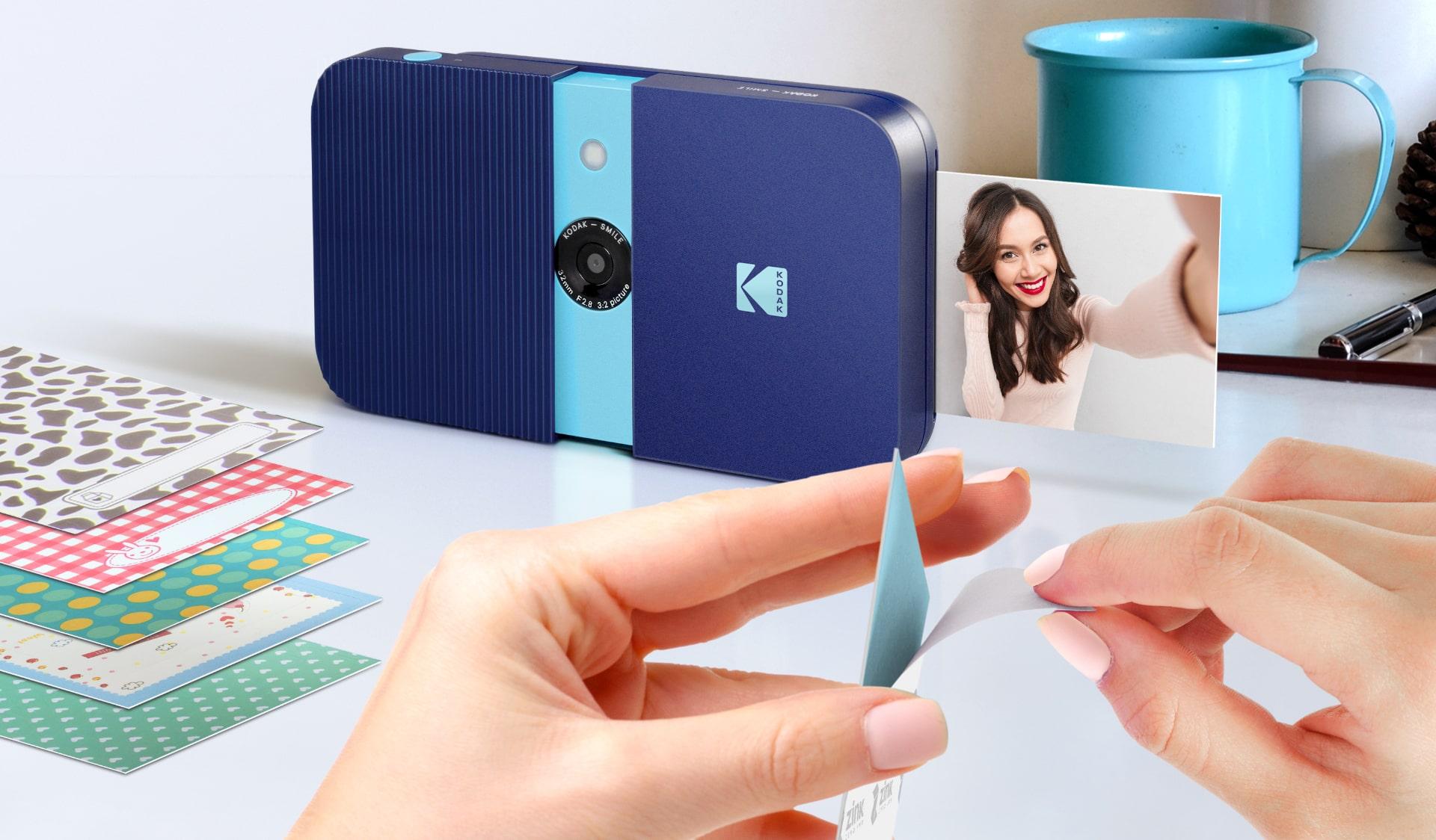 Камер за моментални инстантни снимки KODAK SMILE