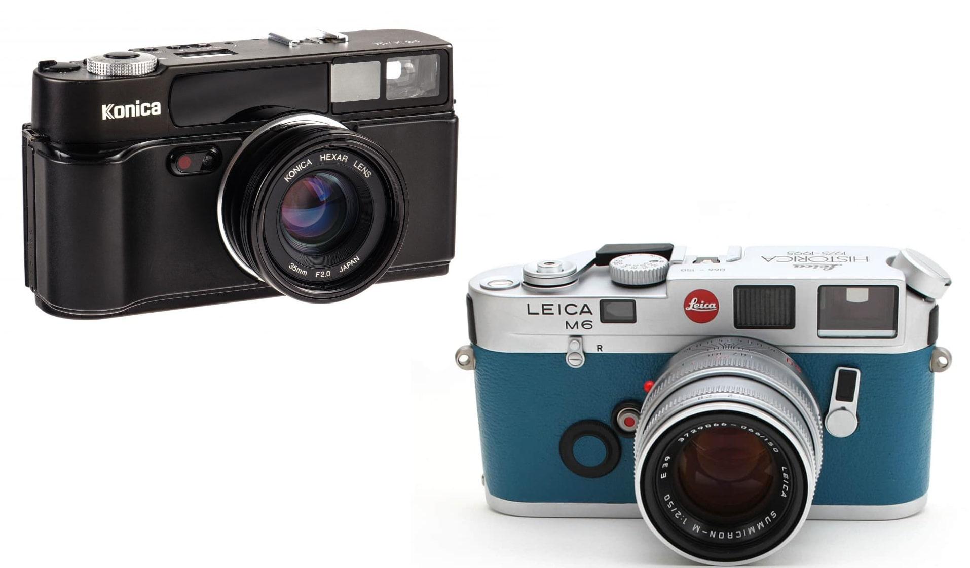 Филмови фотоапарати Rangefinder