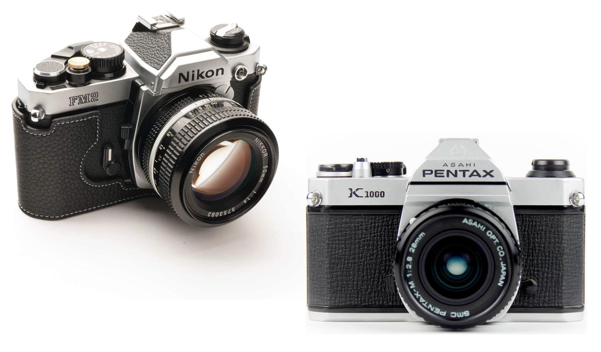 аналогови SLR фотоапарати