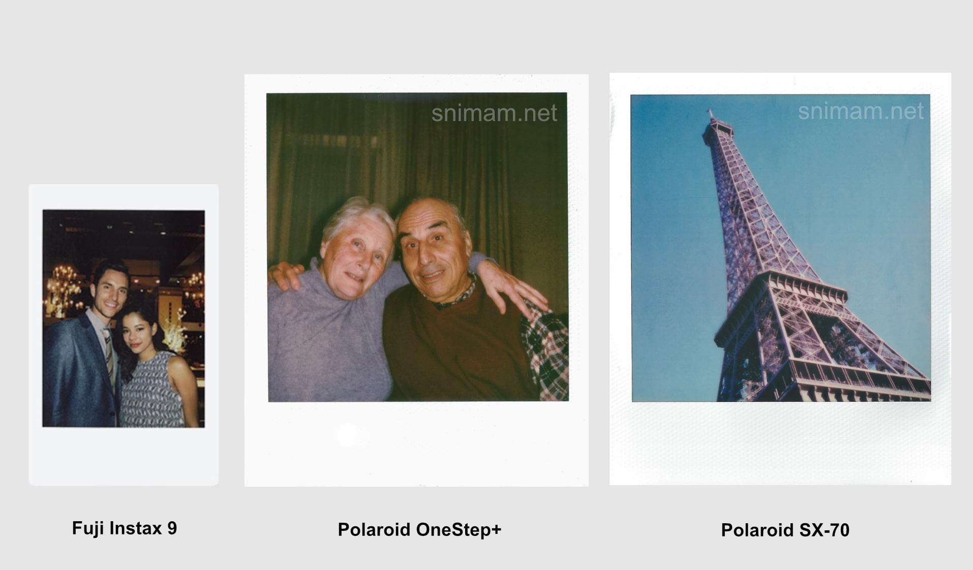 Снимки направени с фотоапарати за моментни снимки