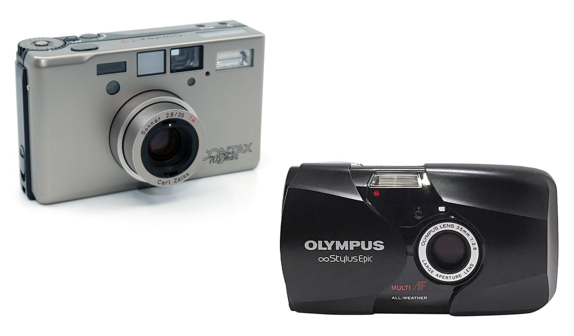 Аналогови фотоапарати тип point ans shoot