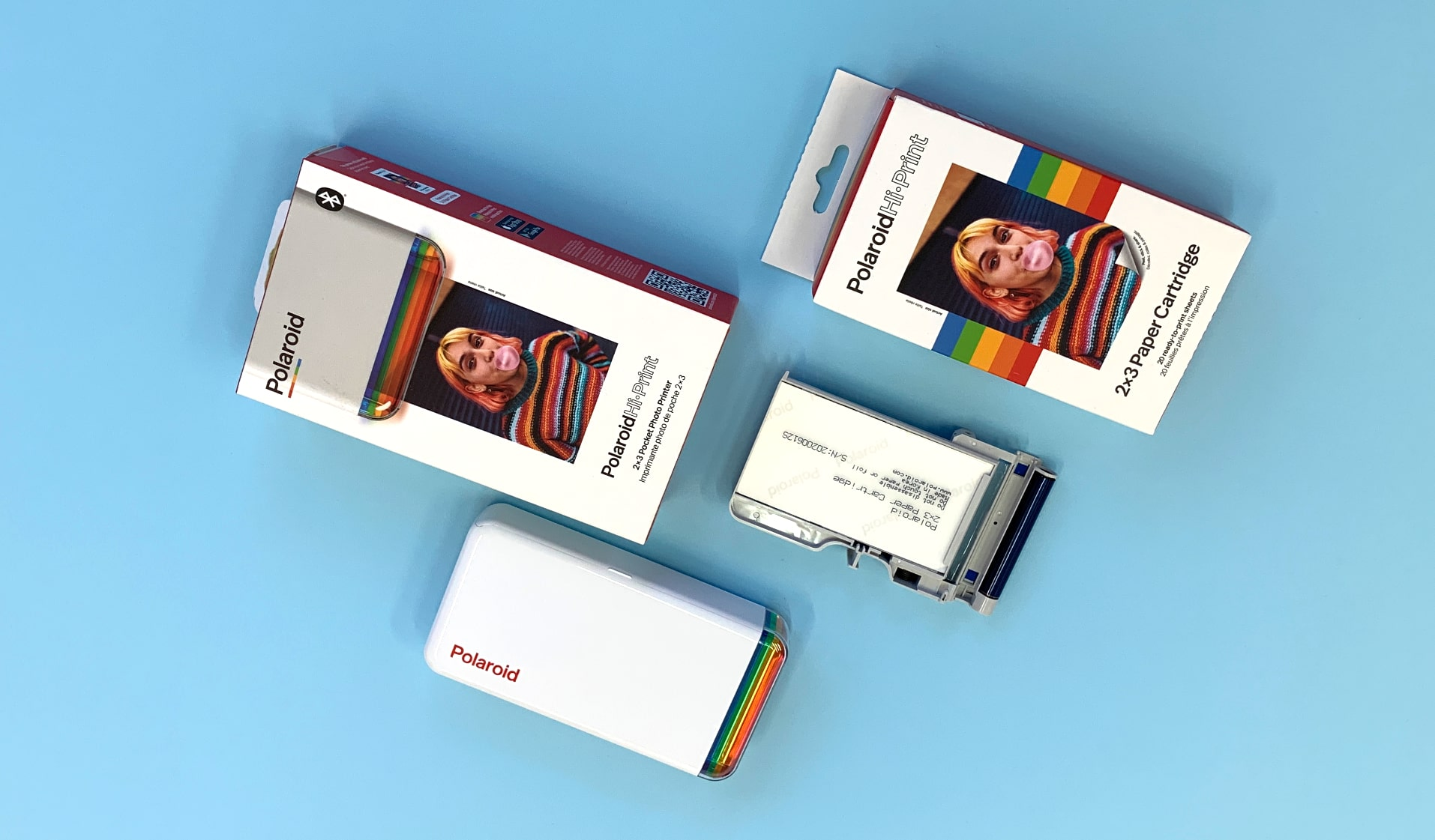 Фото принтер Polaroid Hi Print