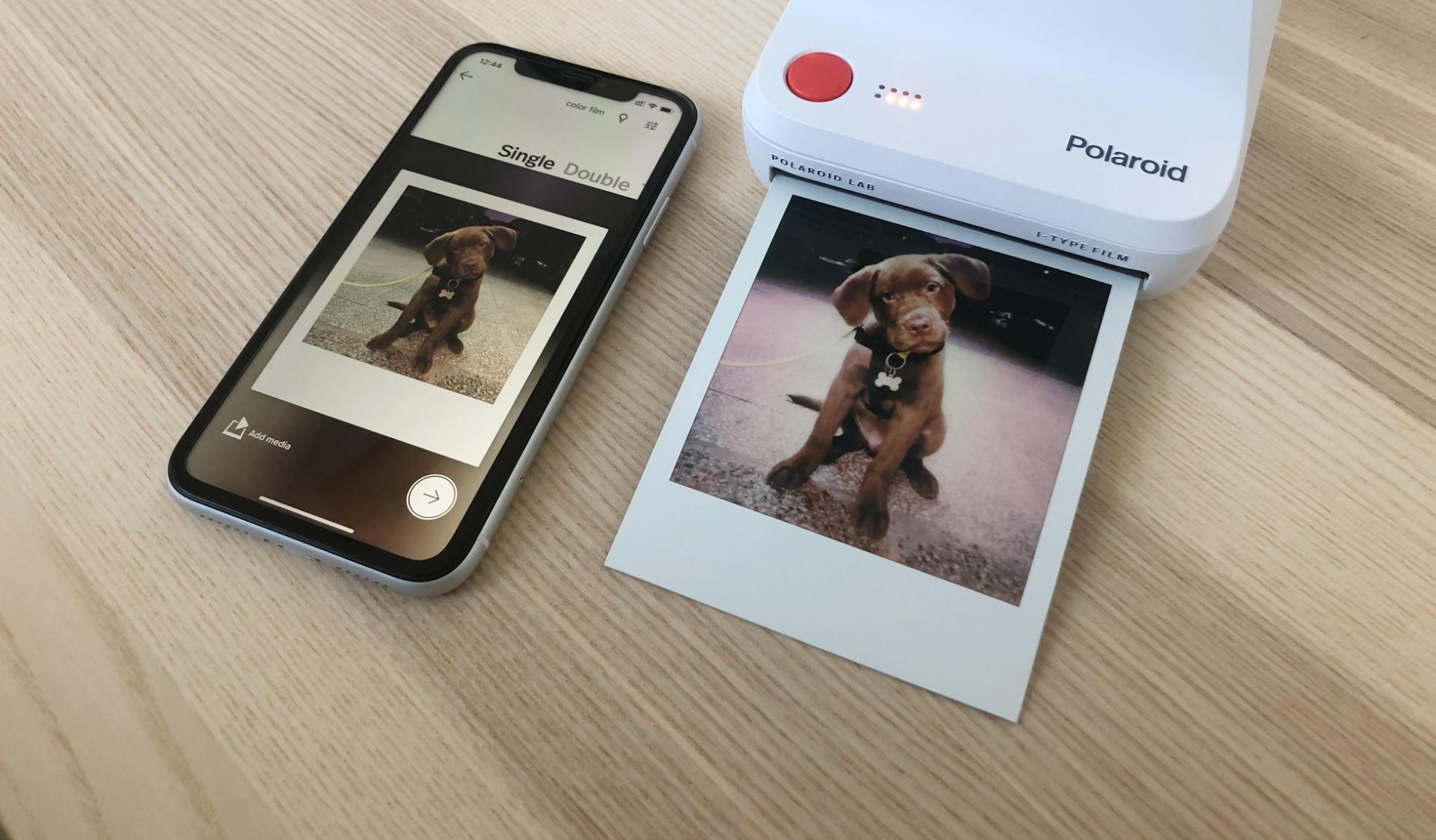 Polaroid снимки с Polaroid Lab
