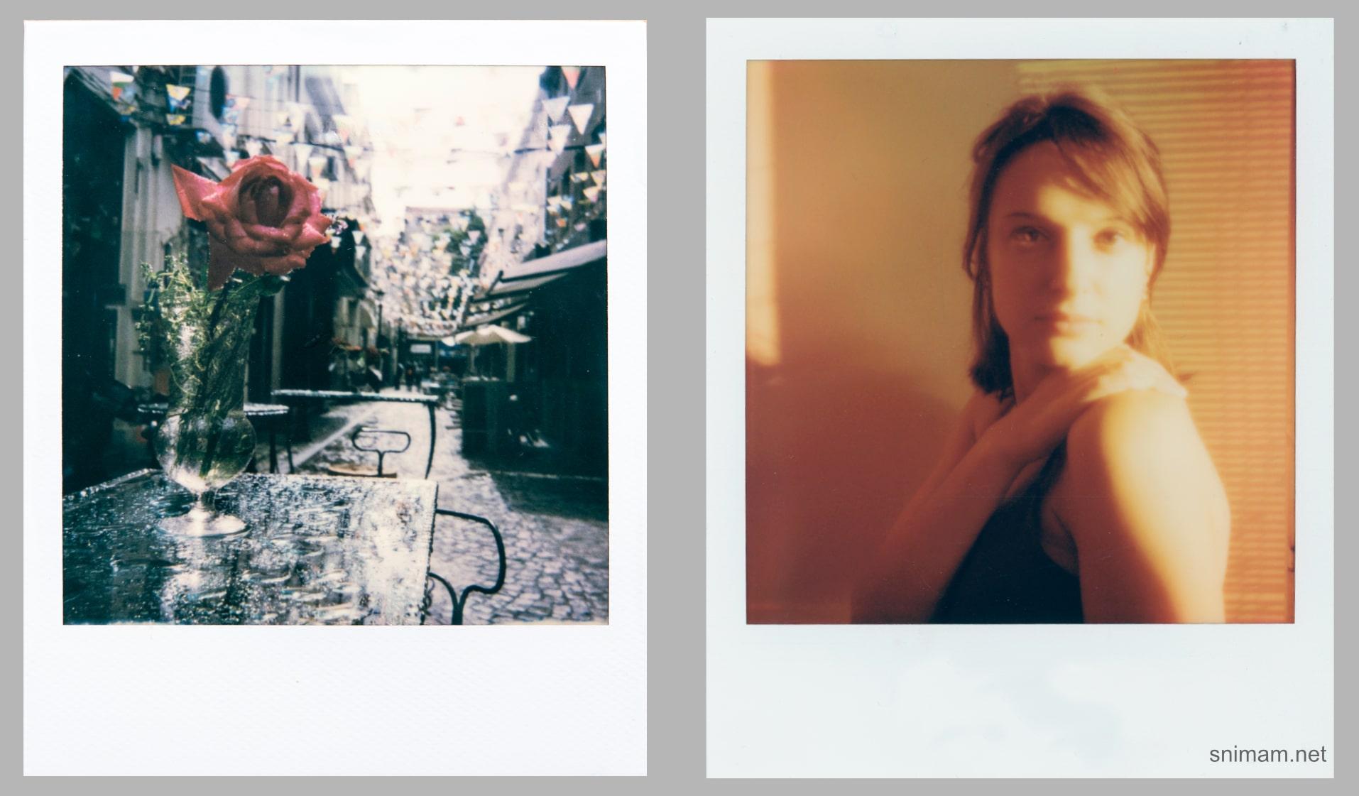 Снимки с Polaroid